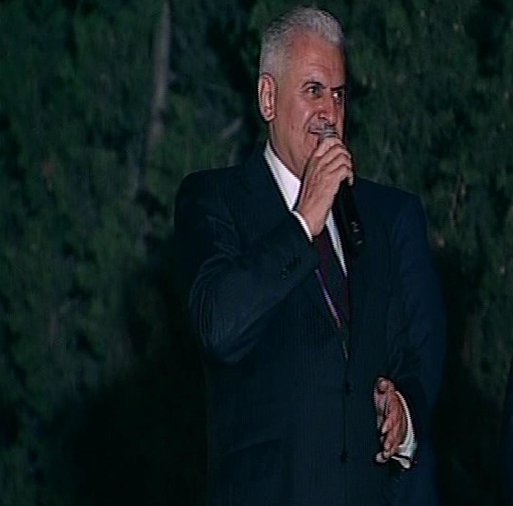 Başbakan Binali Yıldırım, İzmirde Halka Hitap Etti